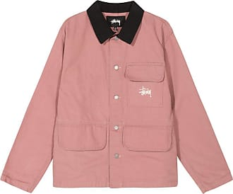 Stüssy Washed chore jacket ROSE L