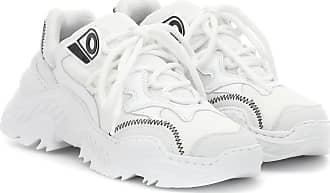 N°21 Sneakers Billy in pelle e tessuto