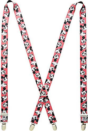 Buckle Down Buckle-Down Mens Suspender-Mickey Mouse, One Size
