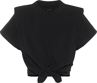 Isabel Marant Belita cotton-jersey crop top