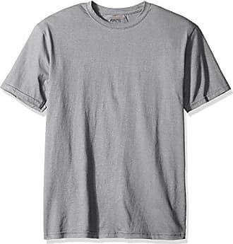 Gold Toe Mens Cotton Stretch T-Shirt, Sport Grey, X-Large