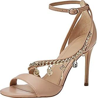 886a71a488 Guess Kayak/Sandalo (Sandal)/Leather, Escarpins Bride Cheville Femme, Beige