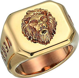 Versus Lion Ring (Antique Gold) Ring