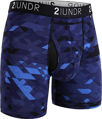 2UNDR Mens Swing Shift 6 Boxer Brief Underwear Limited Edition Colors - Multicolored - Large
