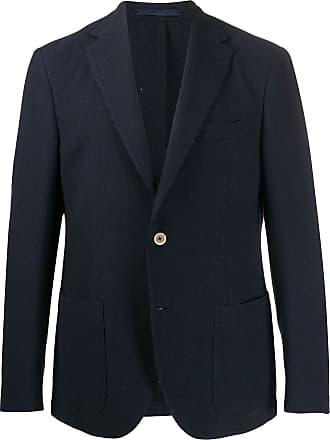 Eleventy single-breasted blazer - Blue