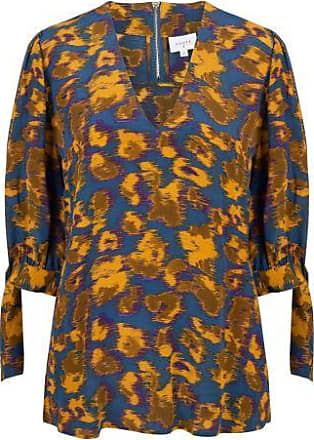 Dante6 Dames Blouses in Viscose (Geel)