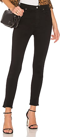 A Gold E Roxanne Super High Rise Skinny in Black