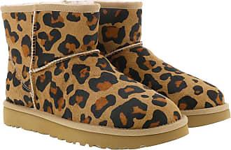 UGG Boots & Booties - W Classic Mini II Leopard Amphora - brown - Boots & Booties for ladies