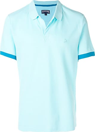 Vilebrequin embroidered logo polo shirt - Blue