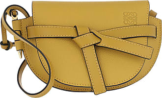 Loewe Mini Gate Bag Ochre Umhängetasche dunkelgelb