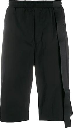 Oakley By Samuel Ross strip detail bermuda shorts - Black