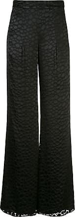 Alexis Calça pantalona Galini cintura alta - Preto