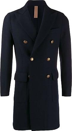 Eleventy double-breasted coat - Azul