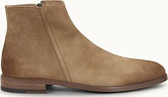Tod's Stiefelette aus Veloursleder, BRAUN, 5.5 - Shoes