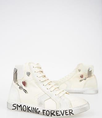 Saint Laurent Fabric Sneakers with Details Größe 36,5