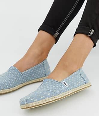 2cdf597df93 Toms classic denim jute sole shoes