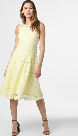 Esprit Damen Kleid gelb