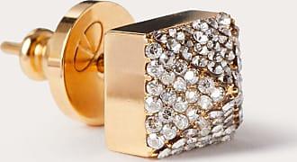 Valentino Garavani Valentino Garavani Call Me Valentino Single Earring Women Gold Brass 100% OneSize