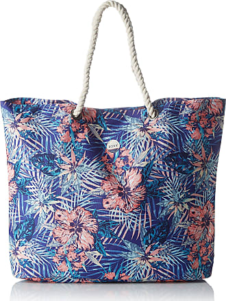 Roxy Womens Princess Tropical Shoulder Bags Multicoloured (Royal Blue Beyond)