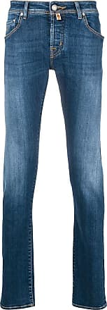 Jacob Cohen classic washed-effect jeans - Blue