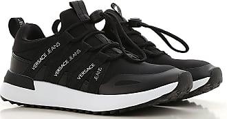 Versace Sneakers for Women On Sale, Black, Neoprene, 2017, 6 7