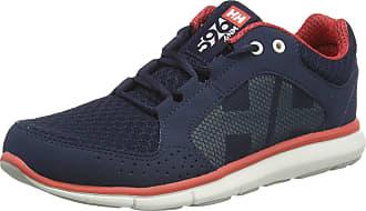 Helly Hansen Womens W Ahiga V4 Hydropower Boating Shoes, Blue (Navy/Off White/Cayenne 597), 7 UK/40.5 EU
