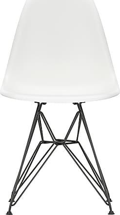 Vitra DSR Plastic Side Chair Dark Base