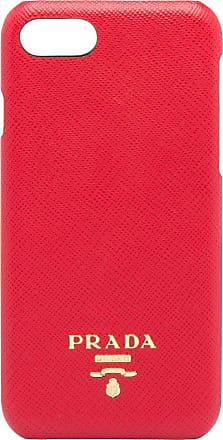 5c8f53d29068 Prada Saffiano leather iPhone 7 8 case - Red