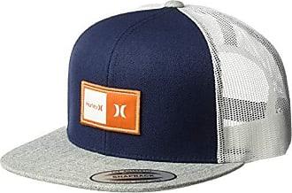 Hurley Mens Logo Patch Trucker Baseball Cap, Obsidian Qty