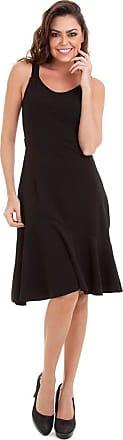 Kinara Vestido Malha Crepe com Recorte-M