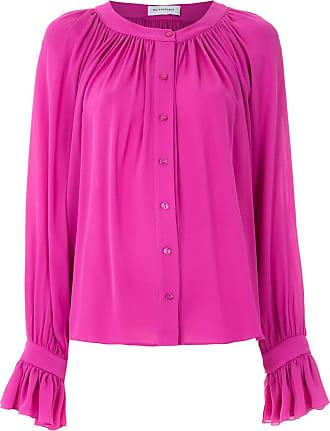 OLYMPIAH Camisa de seda Punh Spinello - Rosa