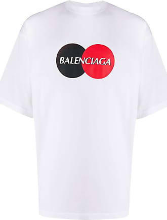 Balenciaga Camiseta oversized Uniform com logo - Branco