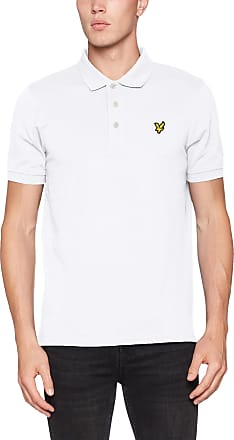 Lyle & Scott Lyle and Scott Men Plain Polo Shirt - Cotton - XXL White