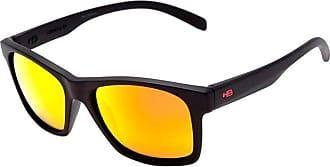 HB Óculos de Sol Hb Unafraid Matte Black | Polarized Red