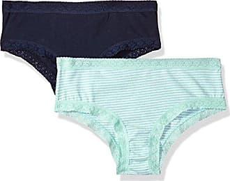 ed856b3912ddb Tommy Hilfiger Womens Cotton Cheeky Bikini with Lace Underwear Panty