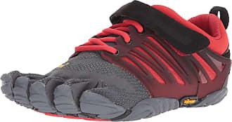 Vibram Fivefingers Mens V-Train Fitness Shoes, Grey (Grey/Black/Red Grey/Black/Red), 10.5/11 UK