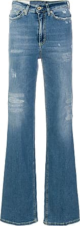 Dondup distressed flared jeans - Blue