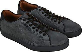 Frye Mens Walker Low LACE Walking Shoe, Charcoal, 11 M