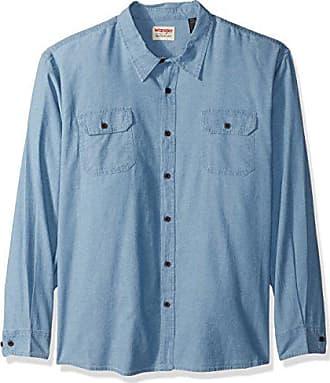 47a281c7 Wrangler Authentics Mens Big and Tall Authentics Big & Tall Long Sleeve  Classic Woven Shirt,