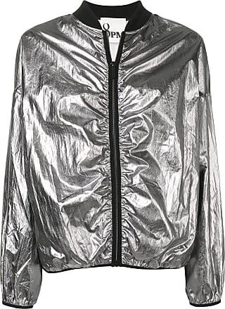 8pm metallic bomber jacket - Silver