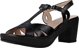 Wonders Women Sandals and Slippers Women F5871P Black 2.5 UK
