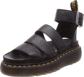 Dr. Martens Womenss Clarissa II Quad Platform Sandals Black Aunt Sally 001, 4 UK (37 EU)
