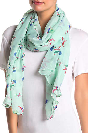 14th & Union Floral Colorblock Scarf