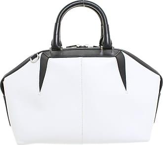 Alexander Wang gebraucht - Alexander Wang-Handtasche aus Leder - Damen - Schwarz / Weiß - Leder