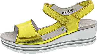 Waldläufer H-Michelle Sandal Yellow Yellow Size: 8.5 UK