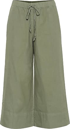Velvet Mirta cropped wide-leg cotton pants