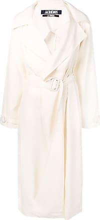 Jacquemus long trench coat - Branco