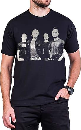 Bandalheira Camiseta Nickelback Grupo Com Estampa