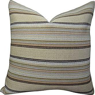 Plutus Brands Plutus Camp Evergreen Handmade Throw Pillow, 12 x 20, Taupe/Brown