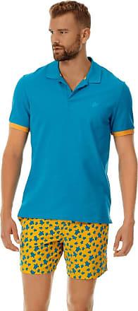 Vilebrequin Men Cotton Pique Polo Shirt Solid - Seychelles - XXL
